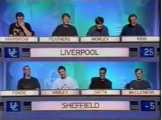 University Challenge - From a 1994 episode of University Challenge