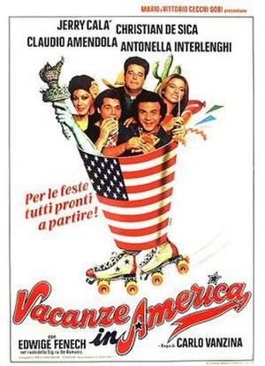 Vacanze in America - Theatrical release poster by Renato Casaro