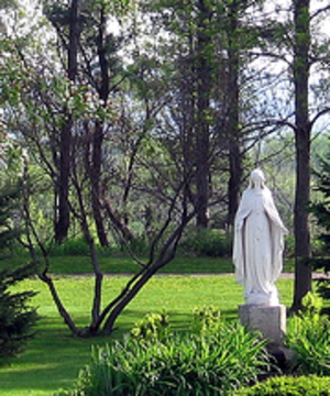 Mary garden - Garden at Saint Mary's University of Minnesota