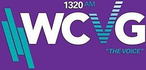 WCVG - Image: WCVG The Voice 1320AM logo