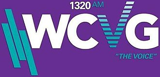 WCVG - Image: WCVG The Voice 1320AM logo