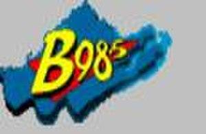 WBBO - The ogirinal B98.5 logo