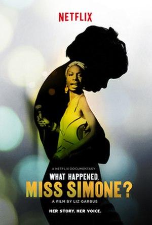 What Happened, Miss Simone? - Image: What Happened, Miss Simone logo,jpg
