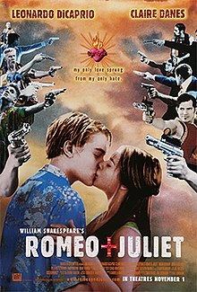 220px William shakespeares romeo and juliet movie poster romeo and juliet naskah drama