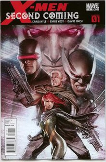 xmen second coming cover