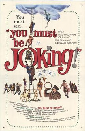 You Must Be Joking! (1965 film) - Theatrical release poster