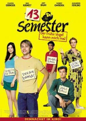 13 Semester - German poster