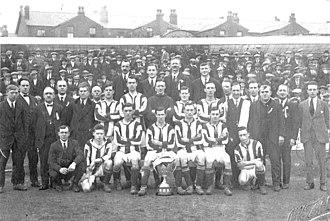 Chorley F.C. - Image: 1923 Chorley champions