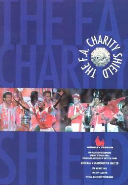 1993 FA Charity Shield programme