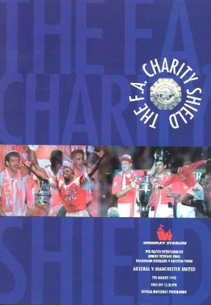 1993 FA Charity Shield - The match programme cover