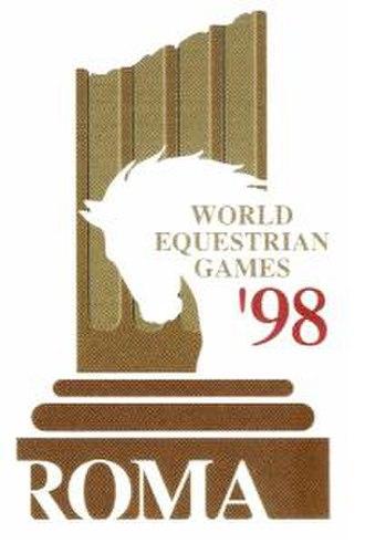 1998 FEI World Equestrian Games - Image: 1998 FEI WEG logo