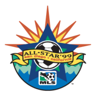1999 MLS All-Star Game logo.png