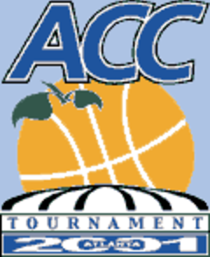 2001 ACC Men's Basketball Tournament - 2001 ACC Tournament logo