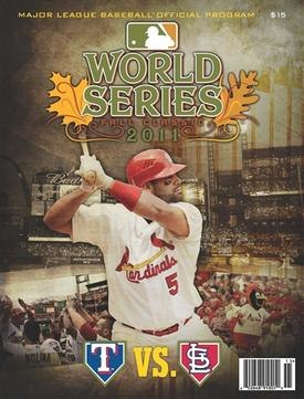 2011 World Series program