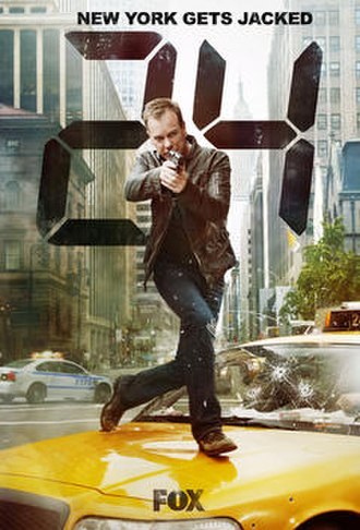24 (season 8) - Promotional poster