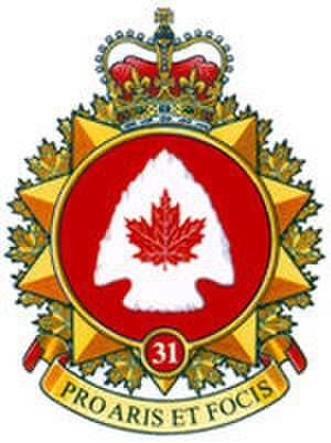 31 Canadian Brigade Group - Formation patch of the 31st Canadian Brigade Group.
