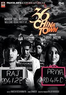 <i>36 China Town</i> 2006 Indian film directed by Abbas-Mustan