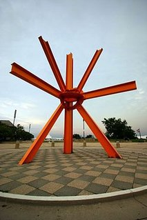 <i>The Calling</i> (di Suvero) artwork by Mark di Suvero