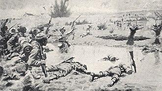 40th Pathans - Image: 40th Pathans, Ypres, 26 April 1915