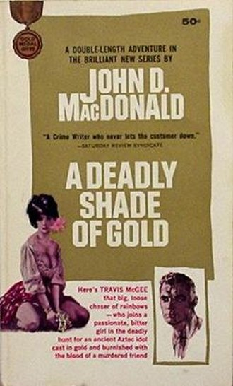 A Deadly Shade of Gold - First edition cover