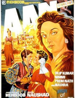 <i>Aan</i> 1952 film by Mehboob Khan