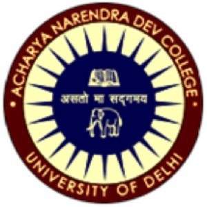 Acharya Narendra Dev College - Logo of college