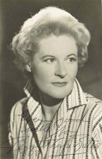 Peggy Thorpe-Bates - photo by Vivienne