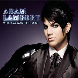 Whataya Want from Me - Image: Adam Lambert WWFM Cover