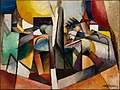 Albert Gleizes, 1914, Paysage Cubiste, oil on canvas, 97 x 130 cm, published in Der Sturm, 5 October 1920.jpg
