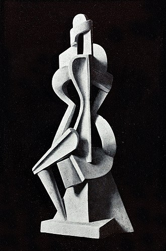 Alexander Archipenko - Untitled, 1912, published in Action, Cahiers individualistes de philosophie et d'art, October 1920