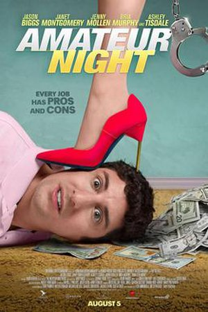 Amateur Night (2016 film) - Theatrical release poster