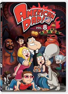 <i>American Dad!</i> (season 8) season of television series