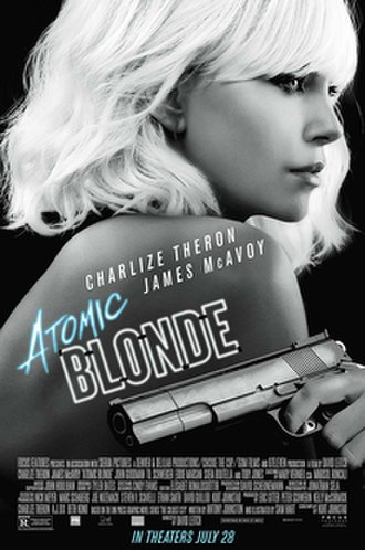 Atomic Blonde - Theatrical release poster