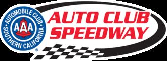 Auto Club Speedway - Image: Auto Club Speedway
