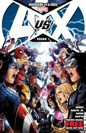 Avengers vs. X-Men - Image: Avengers vs. X Men