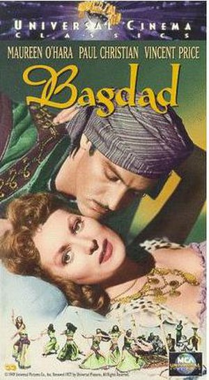 Bagdad (film) - Image: Bagdad Video Cover