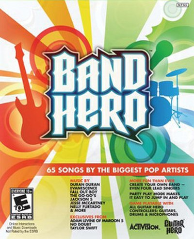 Picture of a game: Band Hero