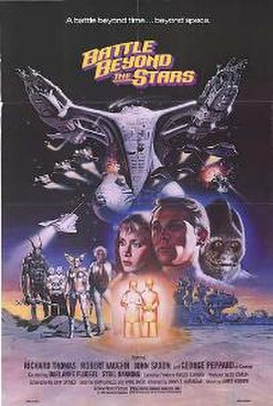 Battle Beyond the Stars - Theatrical release poster  by Gary Meyer