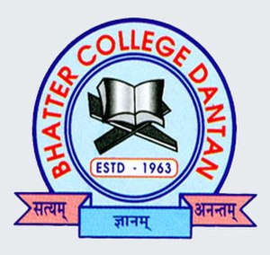 Bhatter College - Image: Bhatter College logo