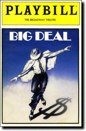 Big Deal (musical) - Playbill cover