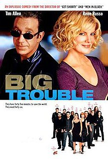 <i>Big Trouble</i> (2002 film) 2002 American film directed by Barry Sonnenfeld