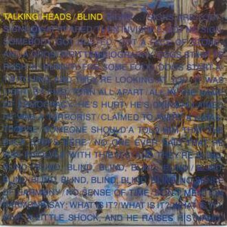 Blind (Talking Heads song) - Image: Blind (Talking Heads song)