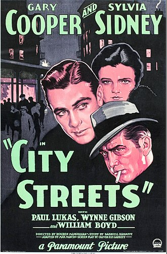 City Streets (1931 film) - Image: CITY STREETS