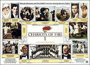 Chariots of Fire - Theatrical release poster