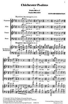 Chichester-Psalms