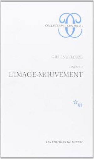 Cinema 1: The Movement Image - Cover of the French edition