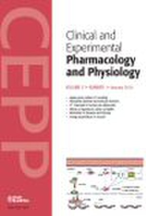 Clinical and Experimental Pharmacology and Physiology - Image: Clinical and Experimental Pharmacology and Physiology