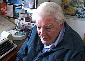 The author in his workroom, October 2003