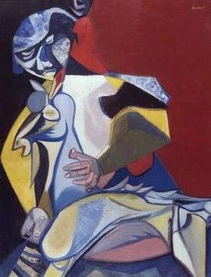 Robert Colquhoun - Woman with a Young Goat, 1948