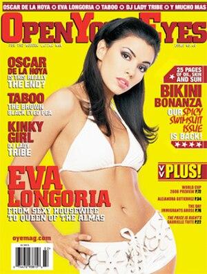 Open Your Eyes (magazine) - Magazine cover of issue 40 featuring Eva Longoria.